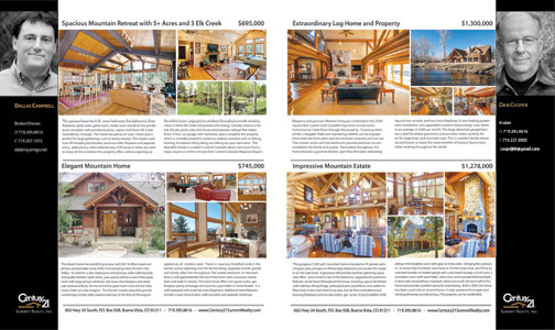 Century 21 Summit Realty Luxury Homes ad